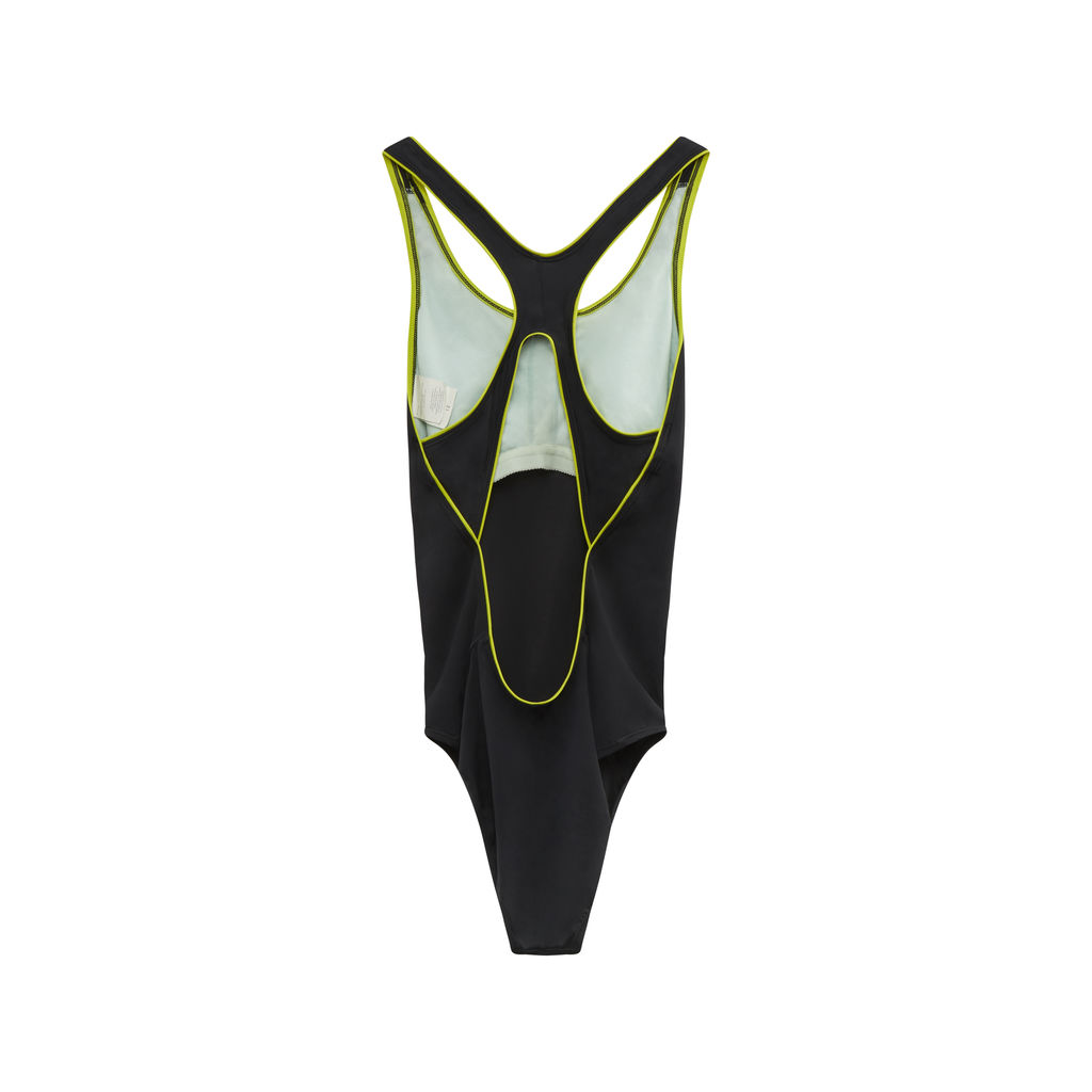 JJVintage Reworked Nike Bodysuit in Black/Green