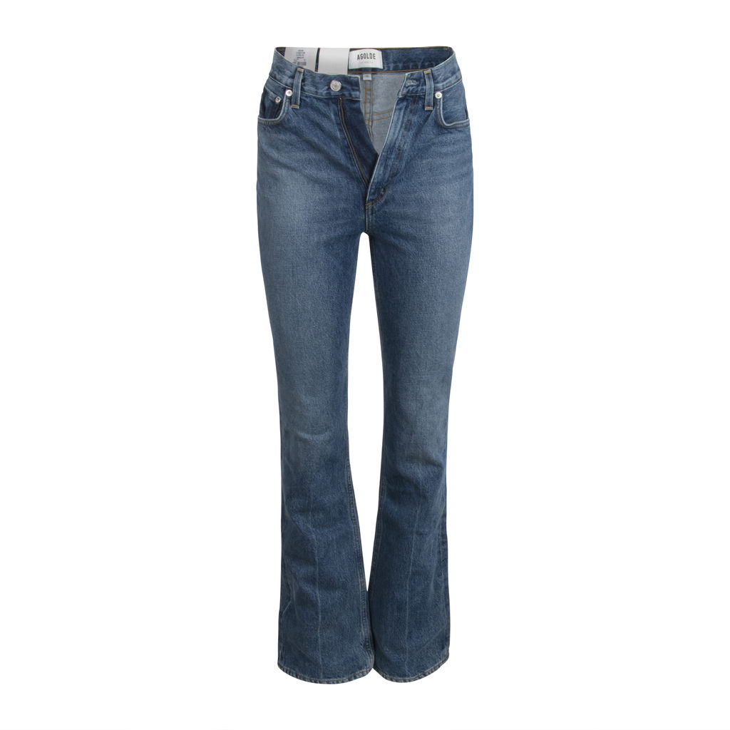 AGOLDE Vintage High Rise Flare Jeans