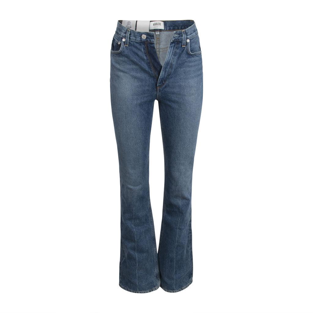 AGOLDE Vintage High Rise Flare Jeans