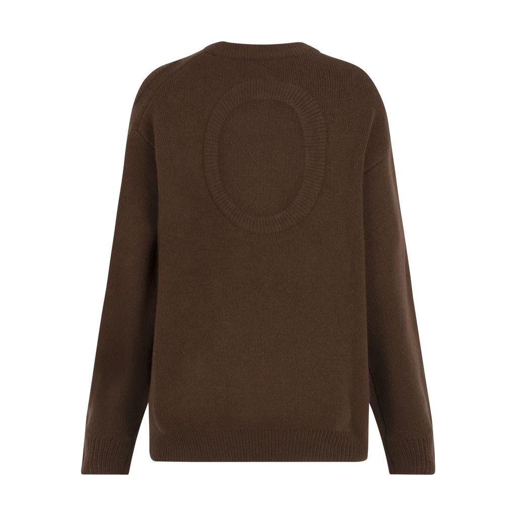 Stylenanda- Oversized Cutout Sweater
