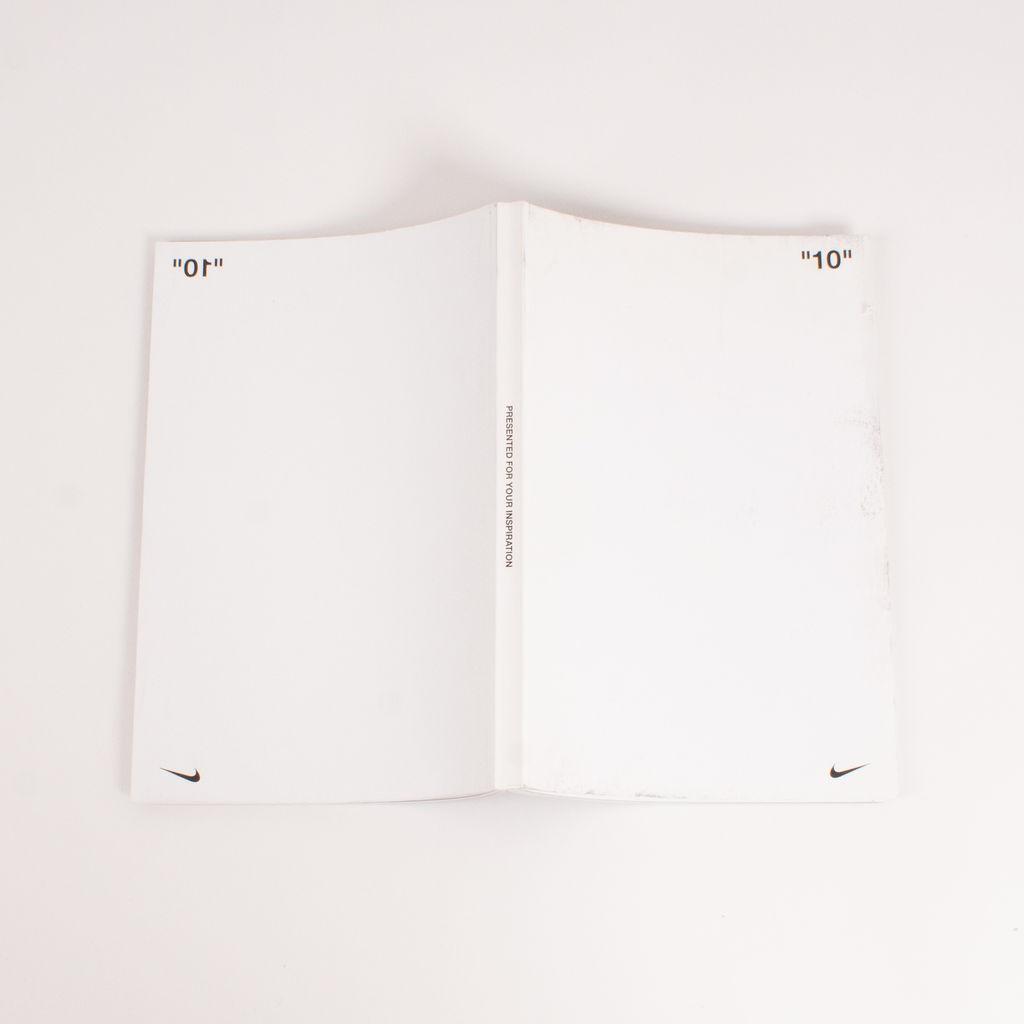 """10""  Nike c/o Virgil Abloh Book"