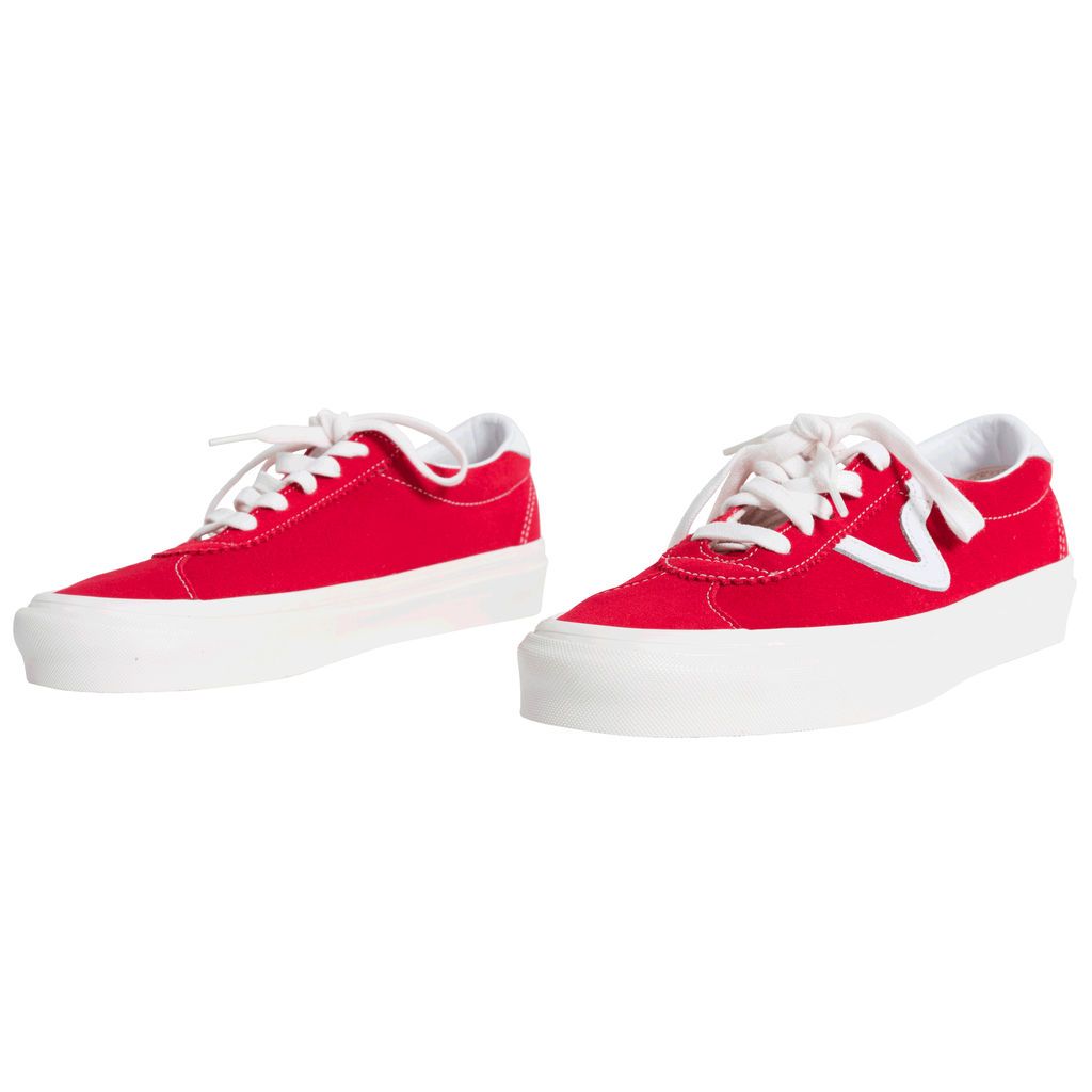 Vans Style 73 DX Anaheim Factory OG Red/White