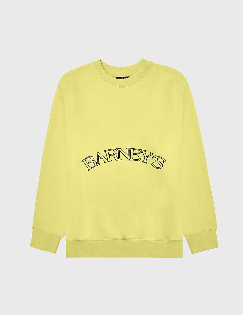 KROST x Barneys Essential Crewneck- Yellow
