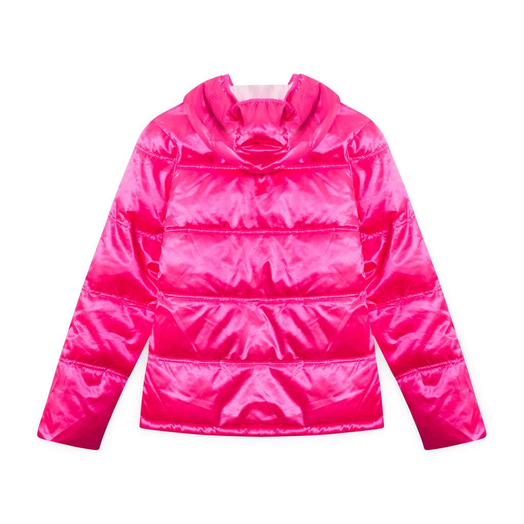 Vintage Pink Puff Bomber