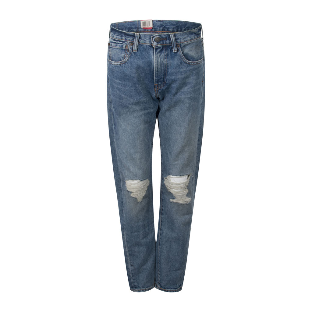 Levi's 505c Distressed Slim Straight Leg Jeans