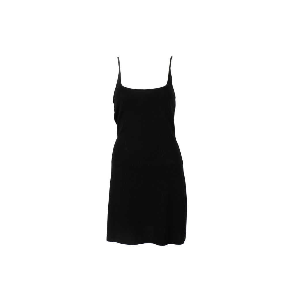 Dolce & Gabbana Black Midi Dress