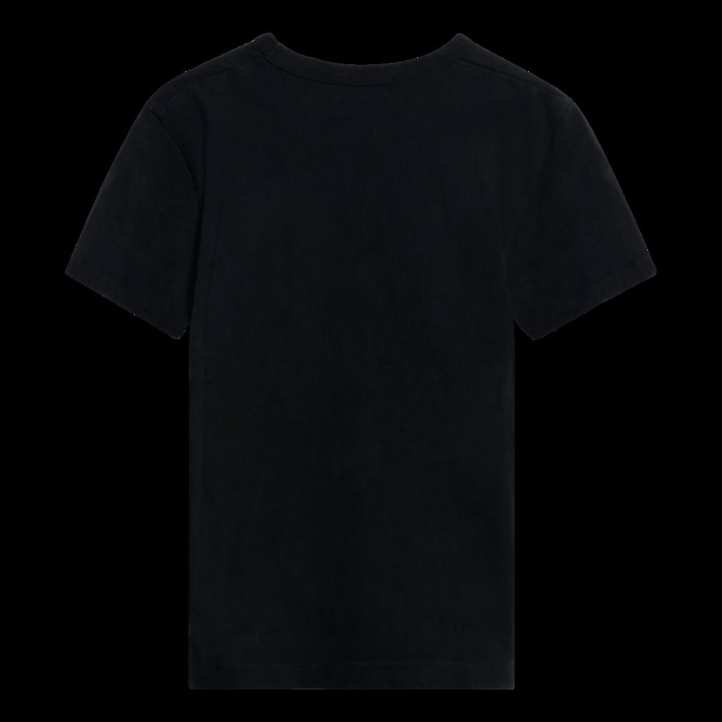 Comme des Garçons Play Black & Red Heart Patch T-Shirt