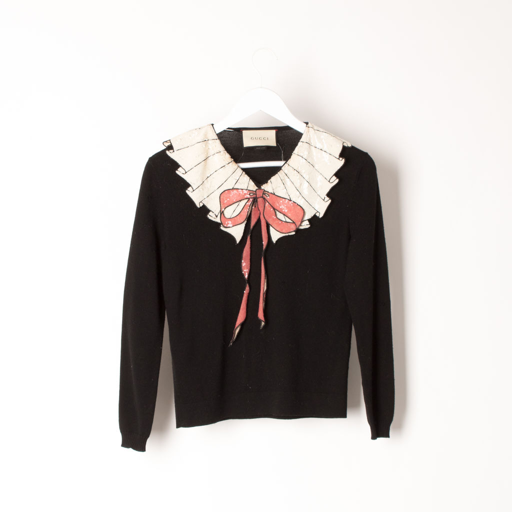 f3583eebdeb Gucci Bow Sweater | Basic Space