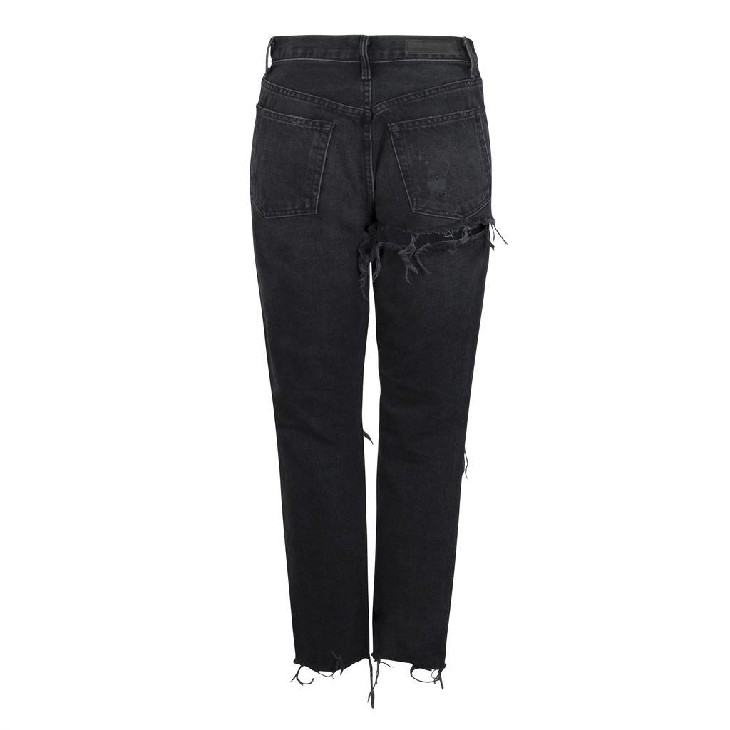 GRLFRND Karolina High Rise Skinny Jean with Butt Slit
