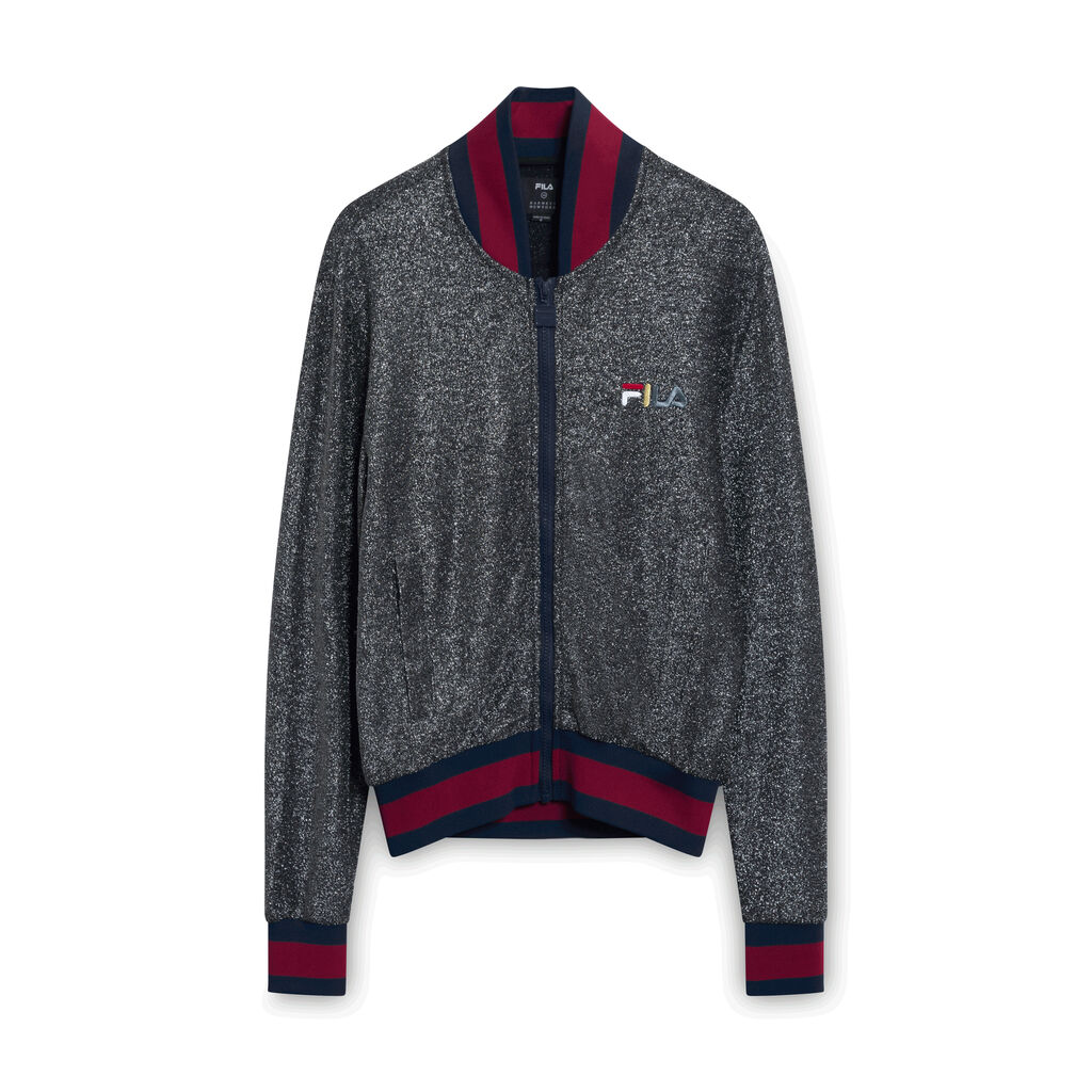 Fila x Barneys Glitter Zip Jacket