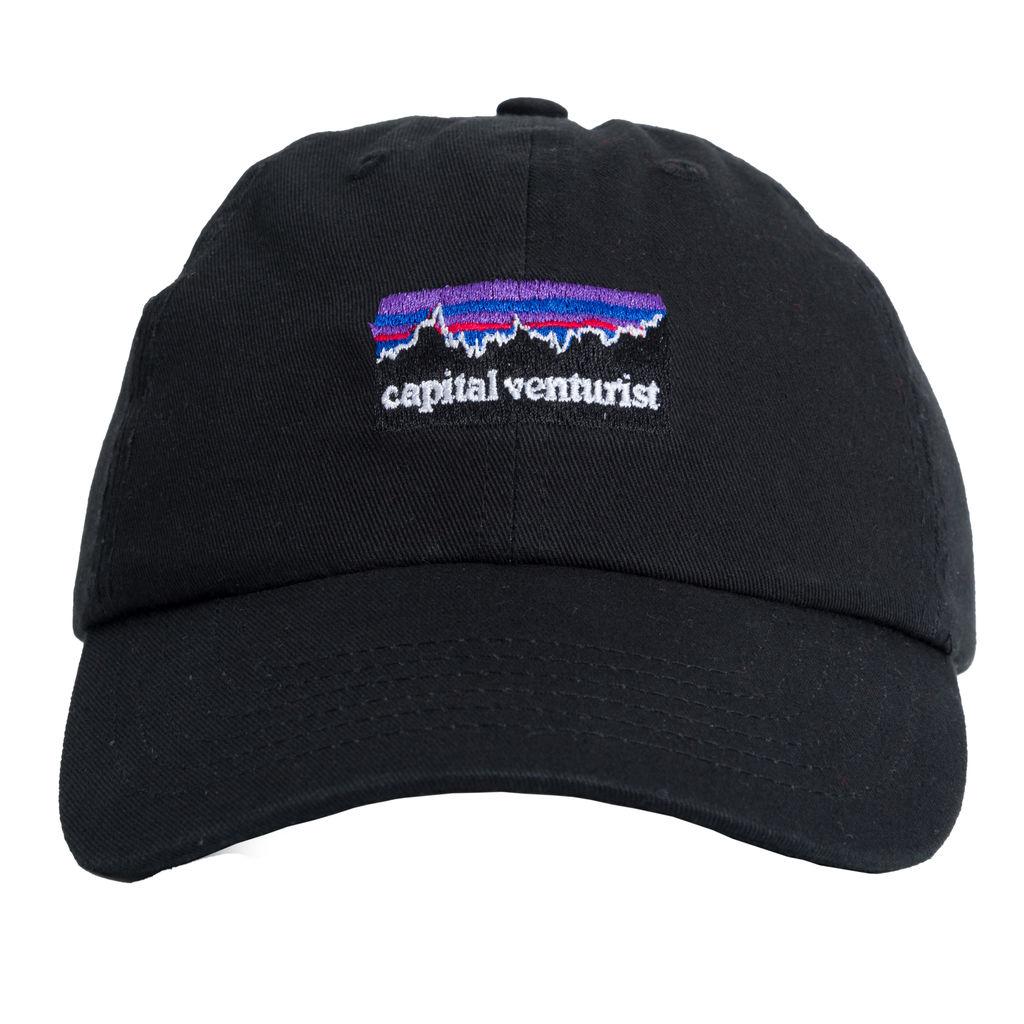 Capital Venturist Black Cap
