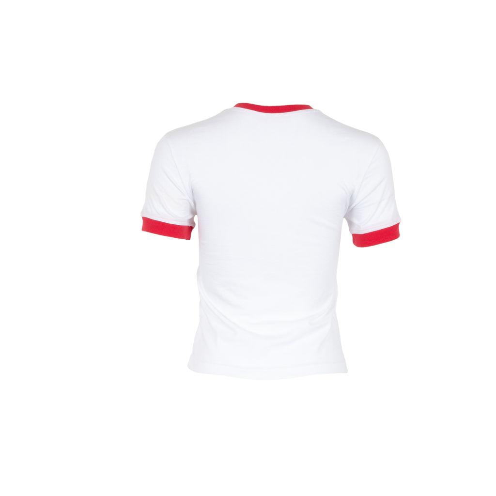Solid & Striped Logo Ringer T-Shirt
