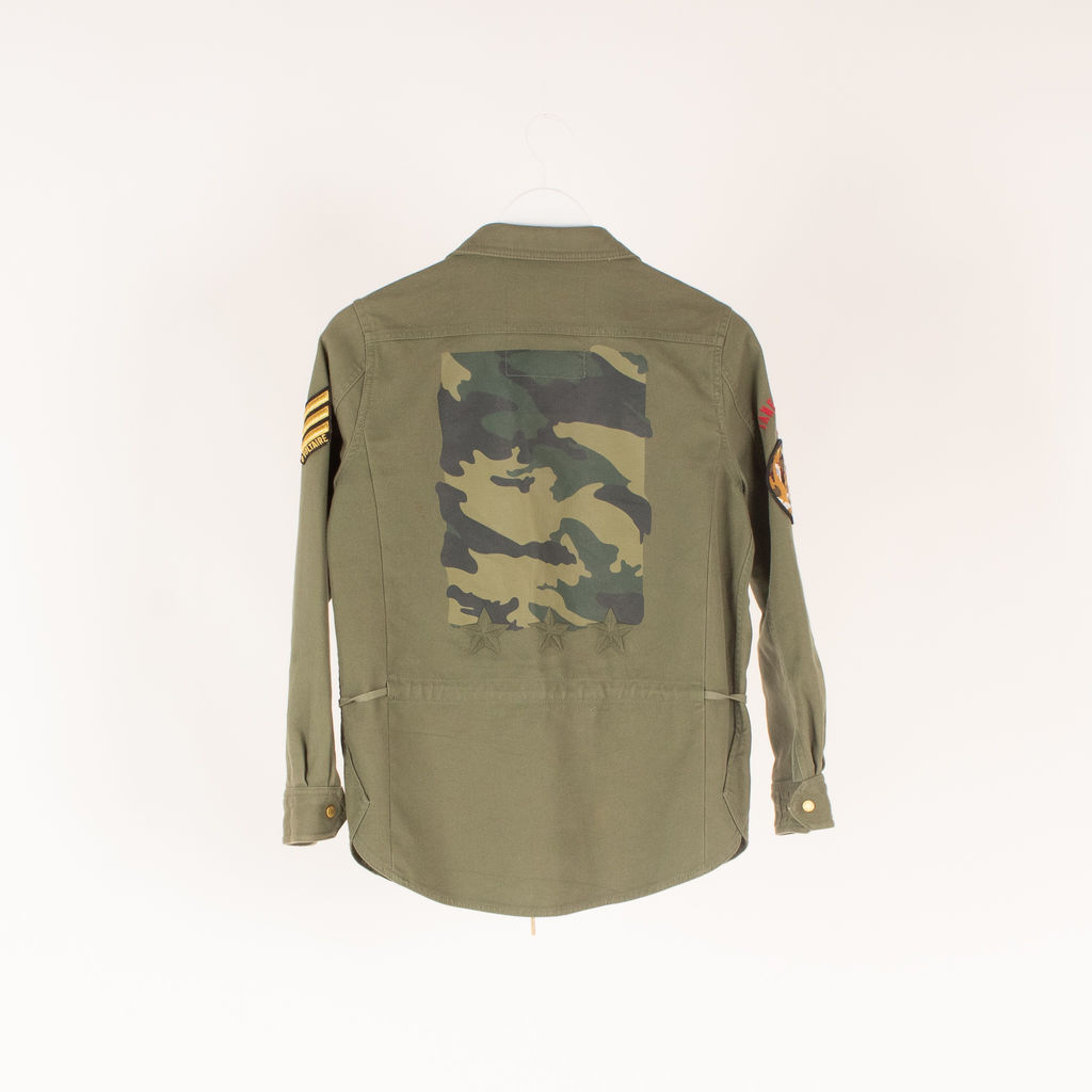 Zadig & Voltaire Tackl Military Jacket
