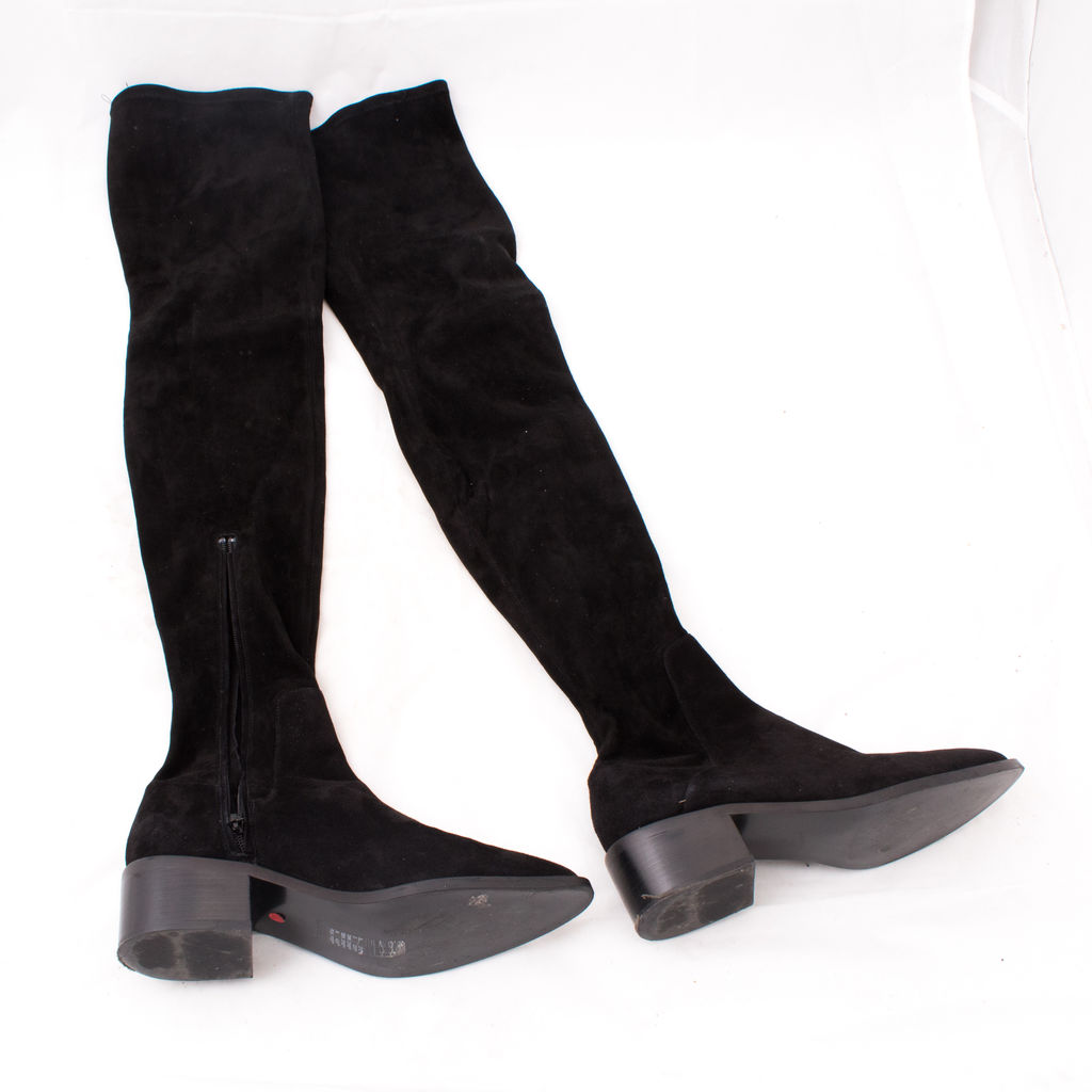 \u0026 Other Stories Suede Over Knee Boot by