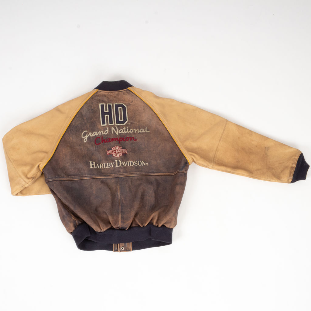 Harley Davidson Grand National Champion Leather Jacket