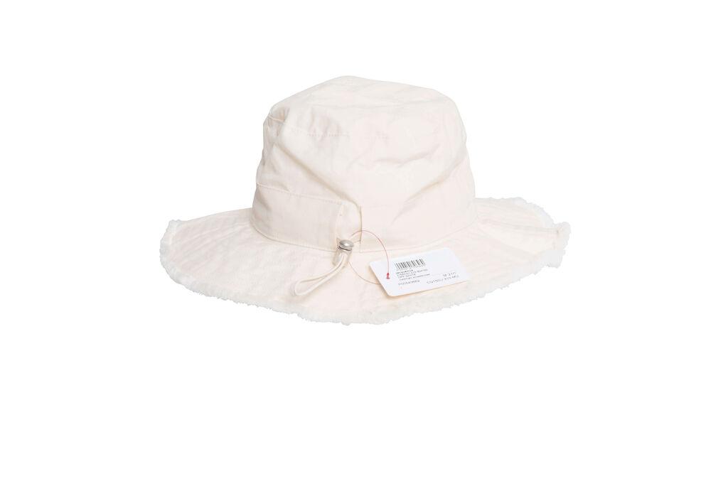 Jacquemus Beige Le Bob Artichaut Cotton Bucket Hat