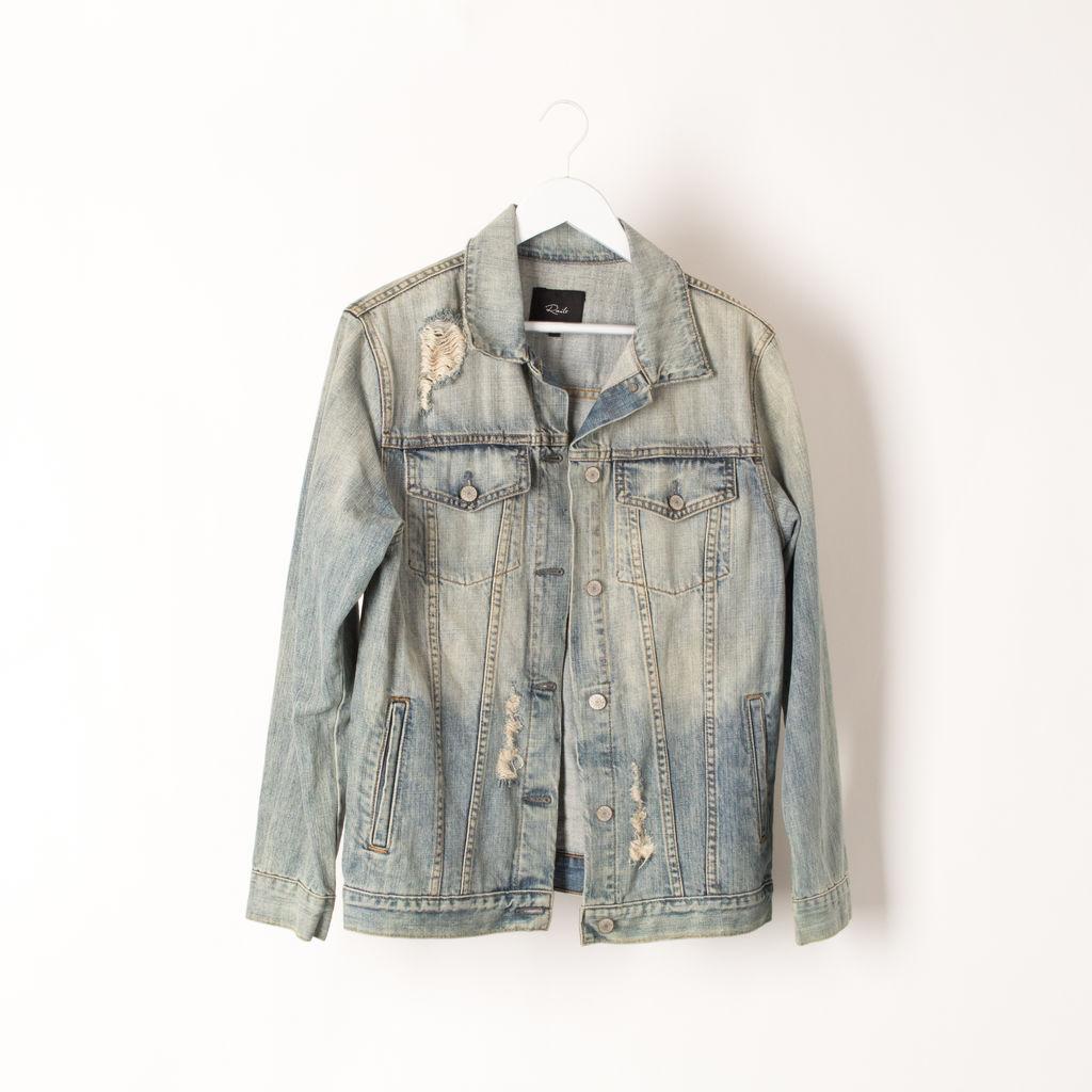 Rails Custom Knox Letterman Jacket