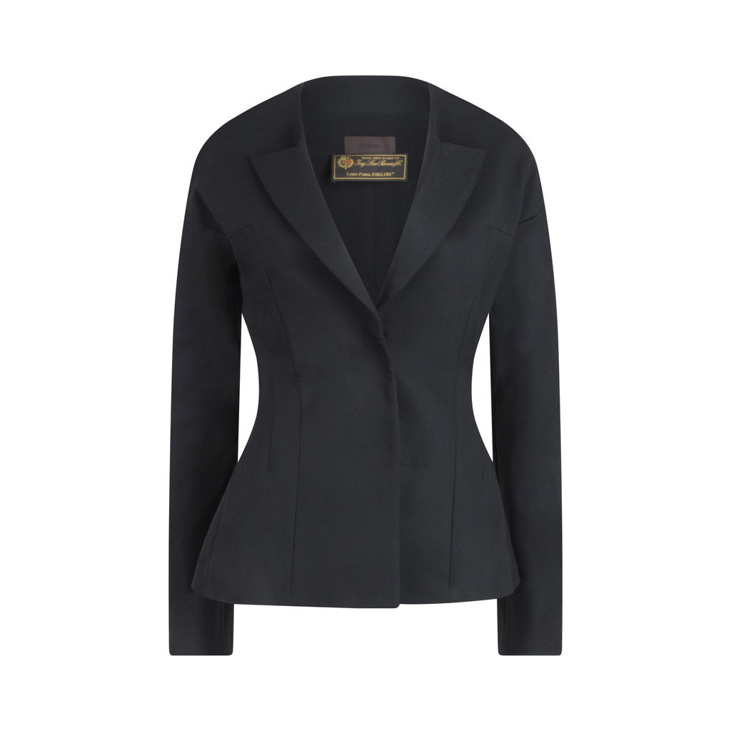 Jo No Fui Black Blazer