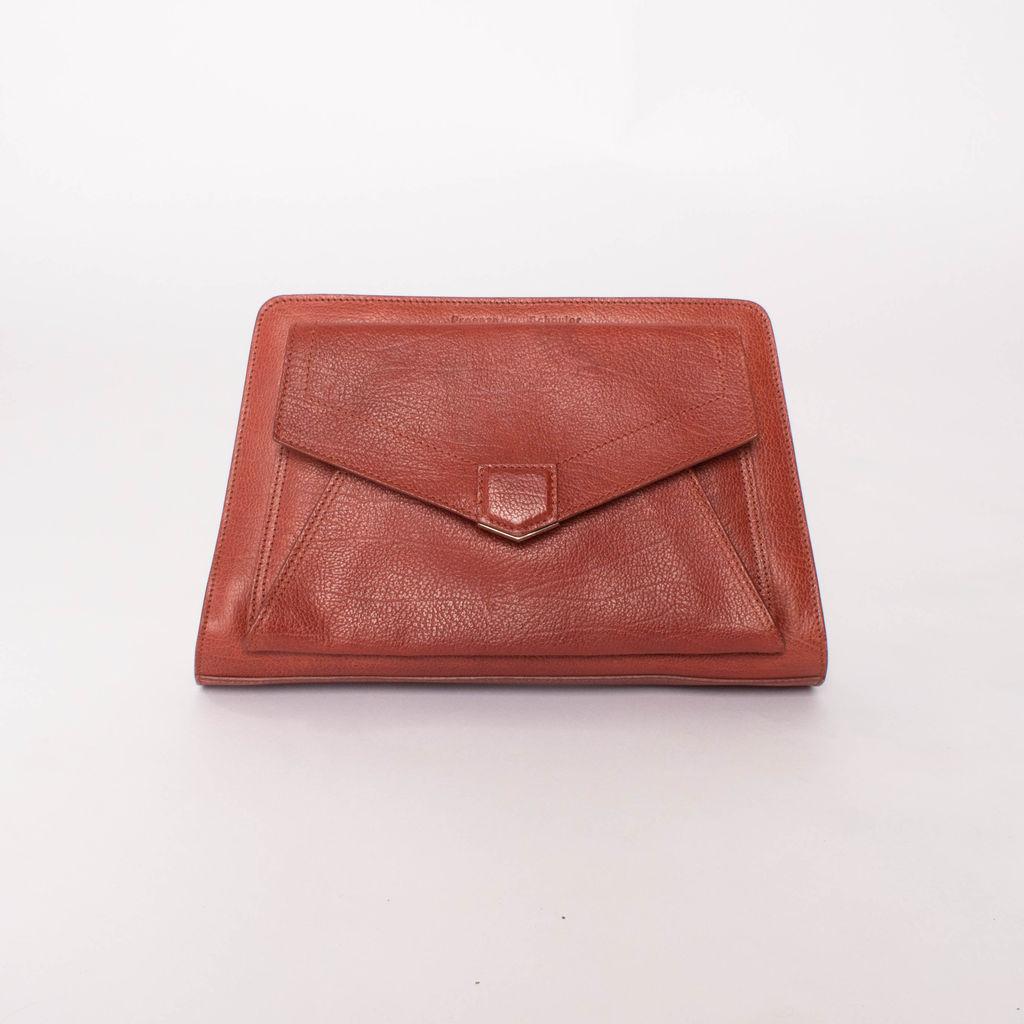 Proenza Schouler Large Leather Clutch