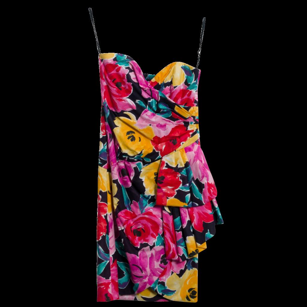 Vintage Victor Costa Midi Dress