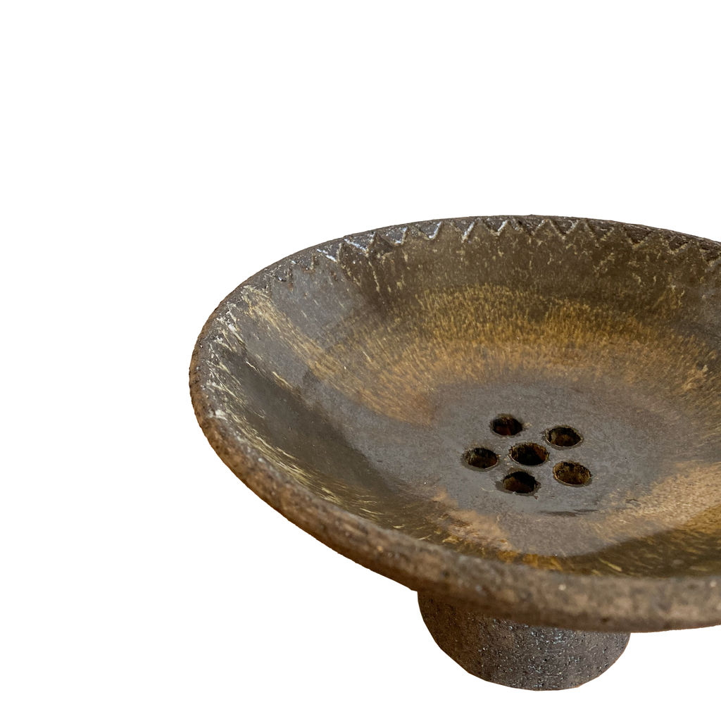 Elsi Bourelius Stoneware Ceramic Incense Bowl