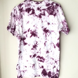 Vintage 1980s Tie Dye Basic Blank Tee Shirt  80s curated by Scott Hopkins