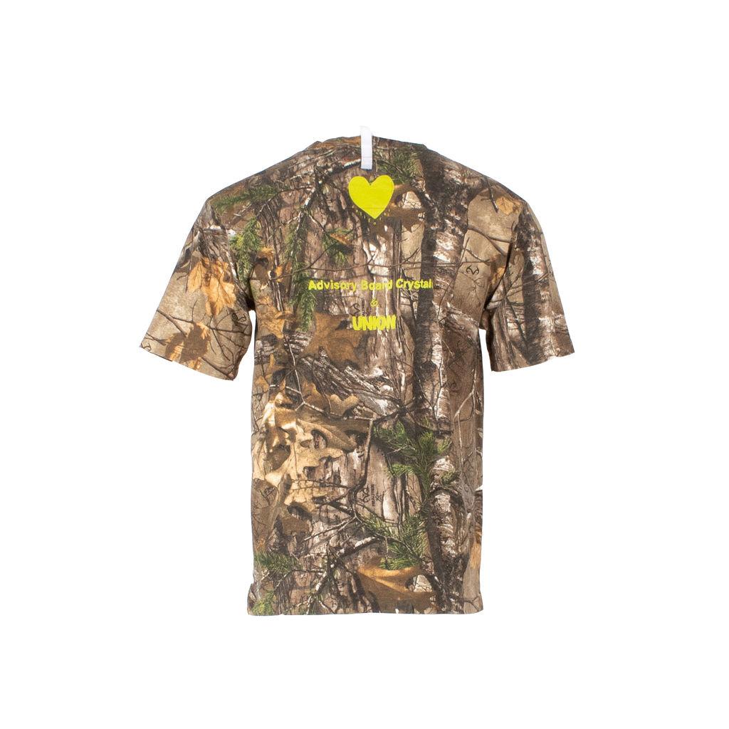 "Advisory Board Crystals x Union LA ""Wildfire"" Camo T-Shirt"