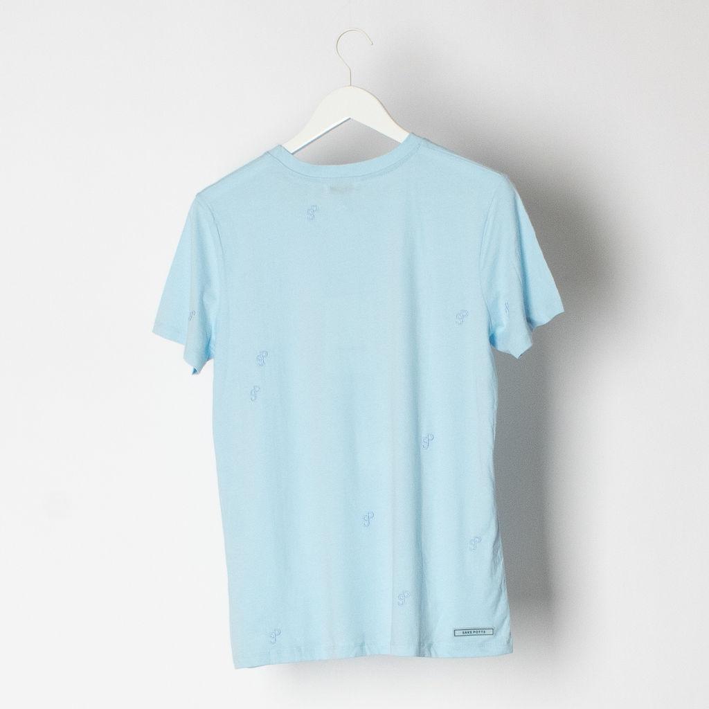 Saks Potts Embroidered Logo T-Shirt