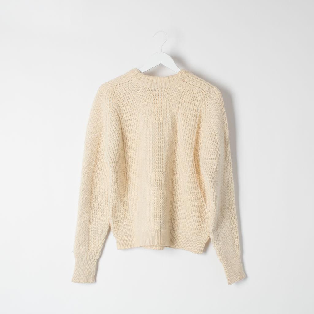Wonderwool of Britain Vintage Fisherman Sweater curated by Sophia Amoruso