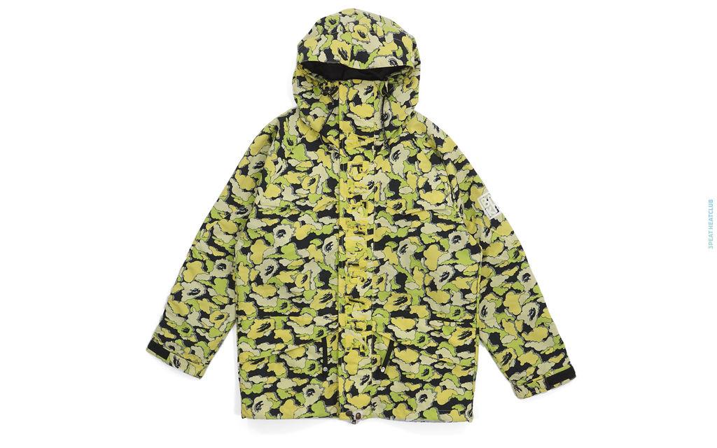 Bape Cloud Camo Snowboard Jacket