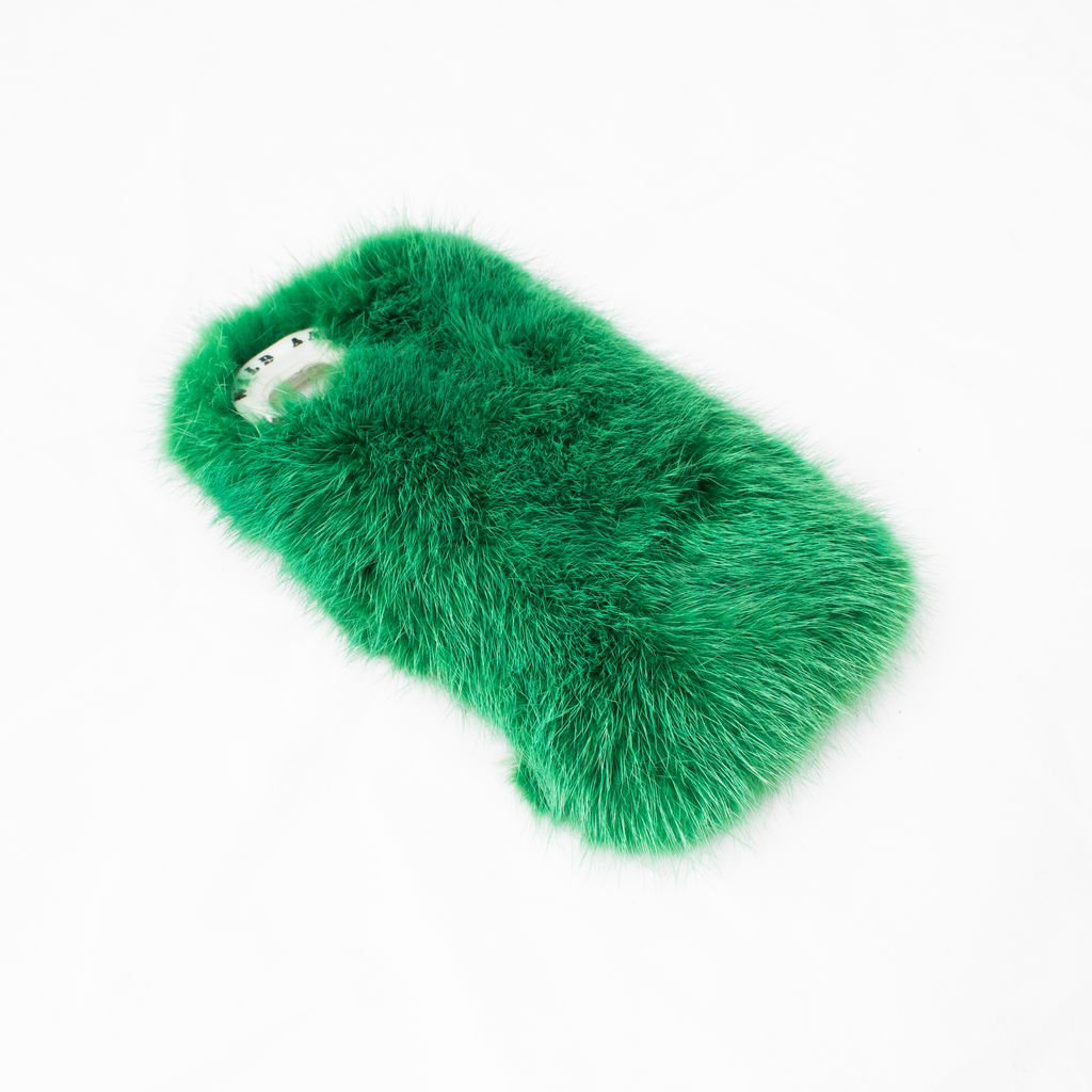 Wild and Woolly Mink iPhone Case