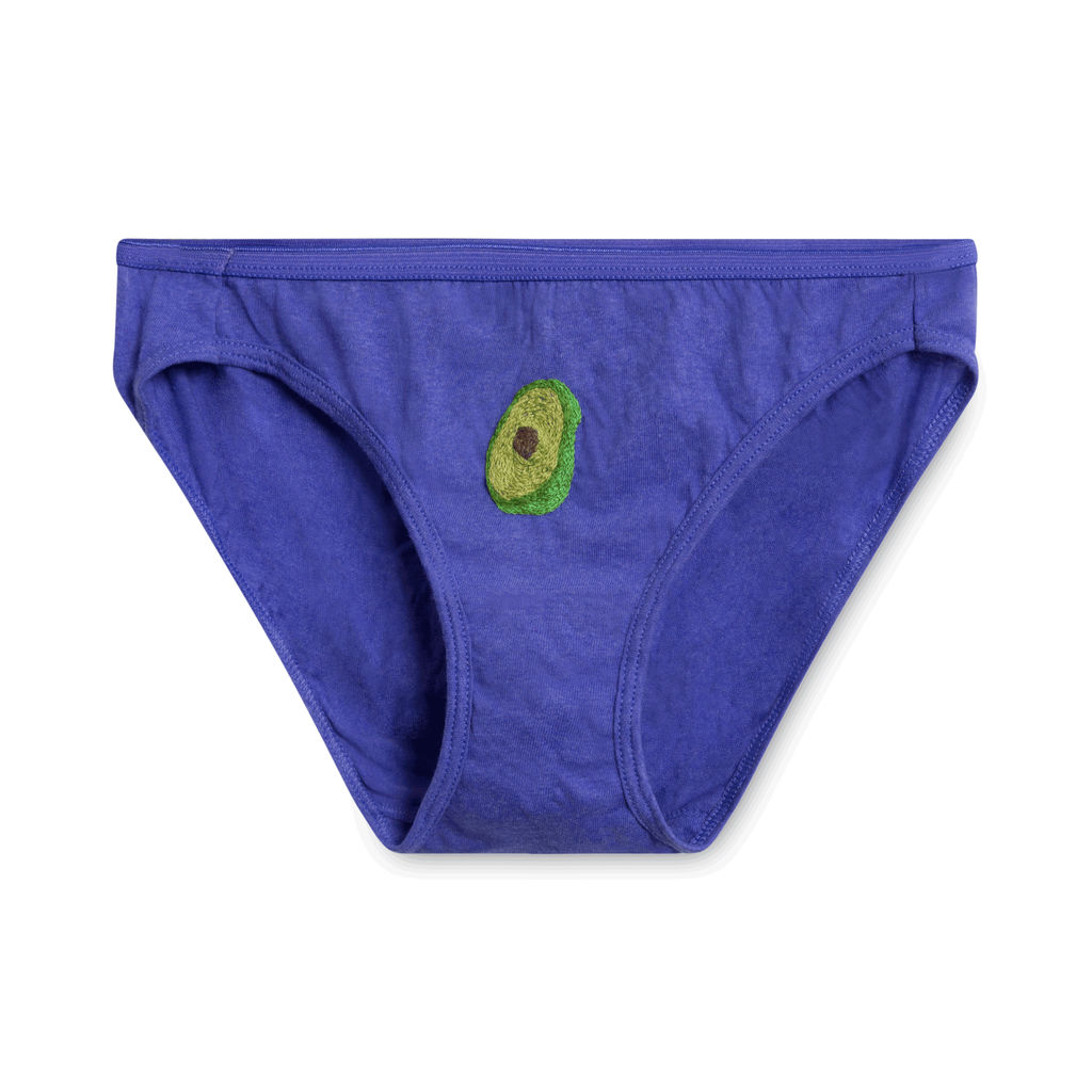 Poppy Undies- Avocado