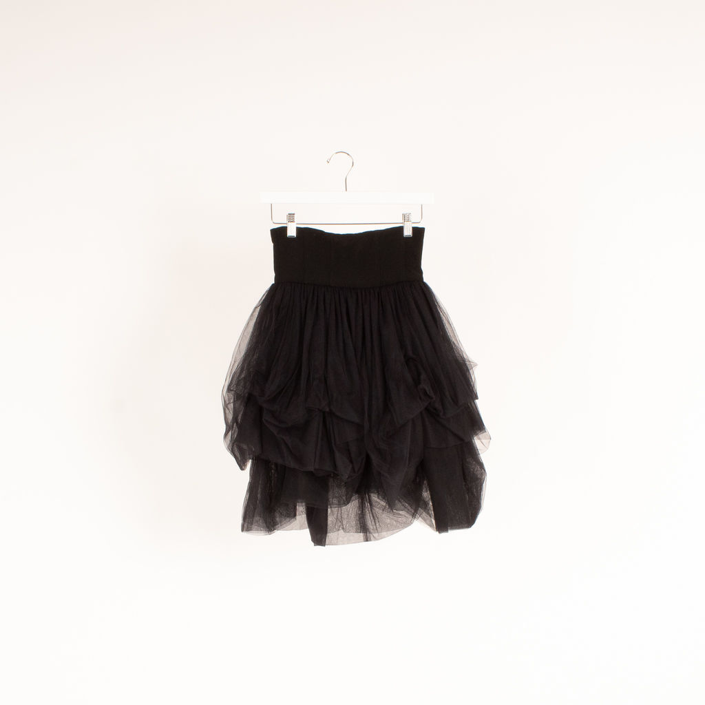 Martine Sitbon Tulle Corset Skirt