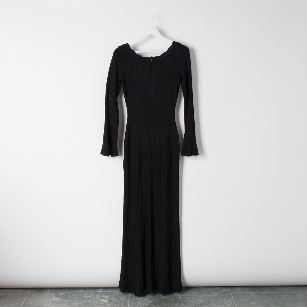 Azzedine Alaia Open Knit Long Dress curated by Sophia Amoruso