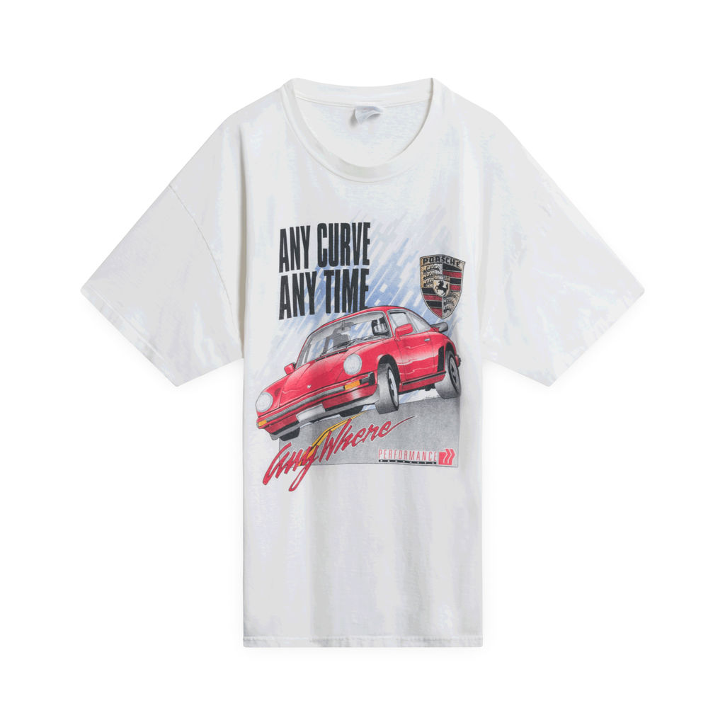 "90s Porsche ""Anywhere"" T-Shirt (White)"