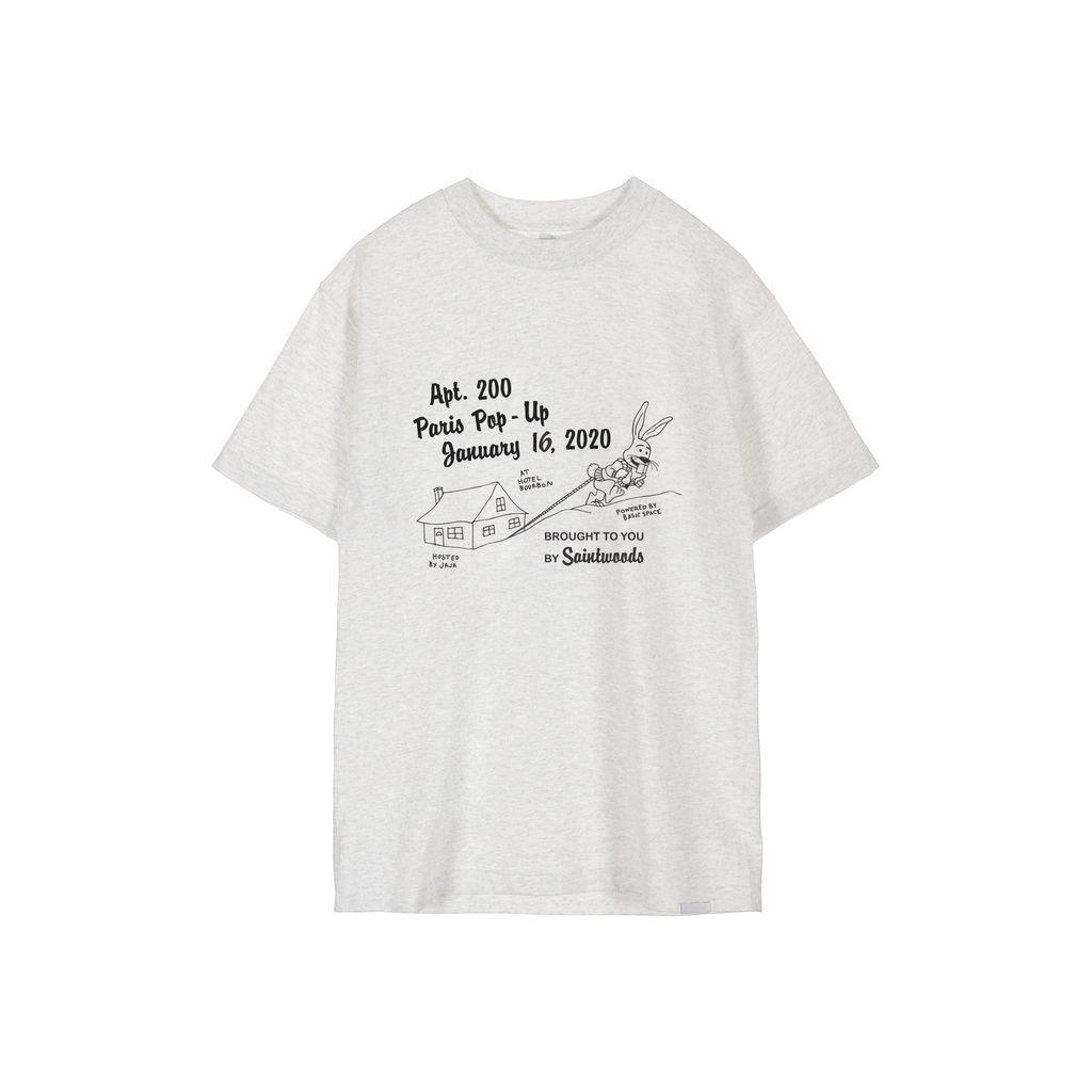 Saintwoods Apt200 Paris Pop Up T-shirt