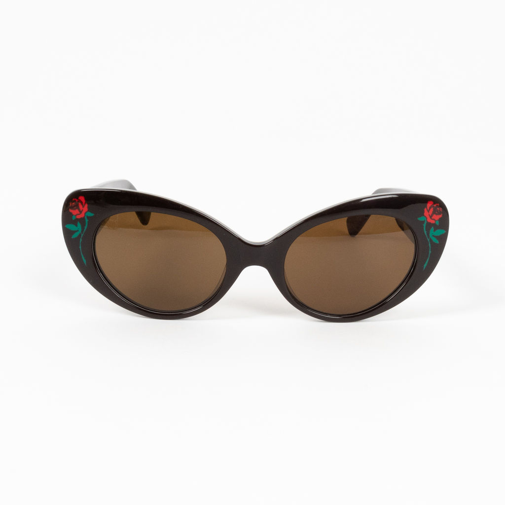 Poppy Lissiman Barbara Rose Accented Sunglasses