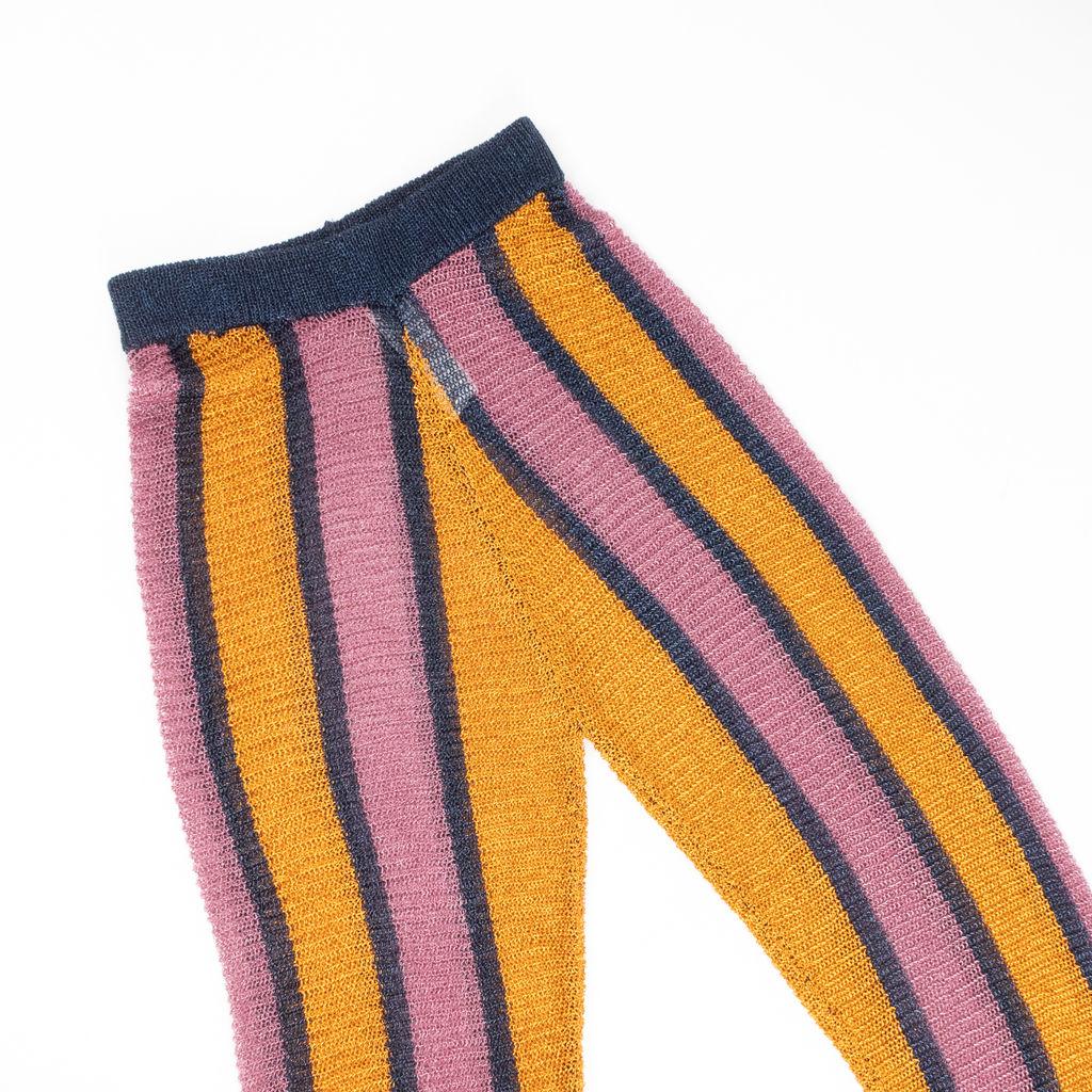 Nasty Gal Studio Supernova Stripe Flare Pants