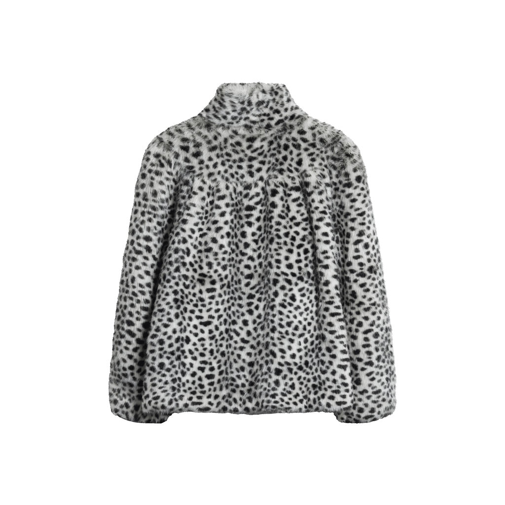Agnes B Faux Fur Jacket