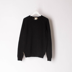 Donni Charm Black Knit Sweater curated by Alana Hadid