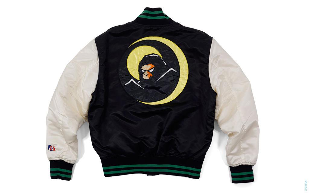 Bapeman Varsity Jacket