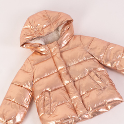 Metallic Puffer Jacket curated by Erica Hass