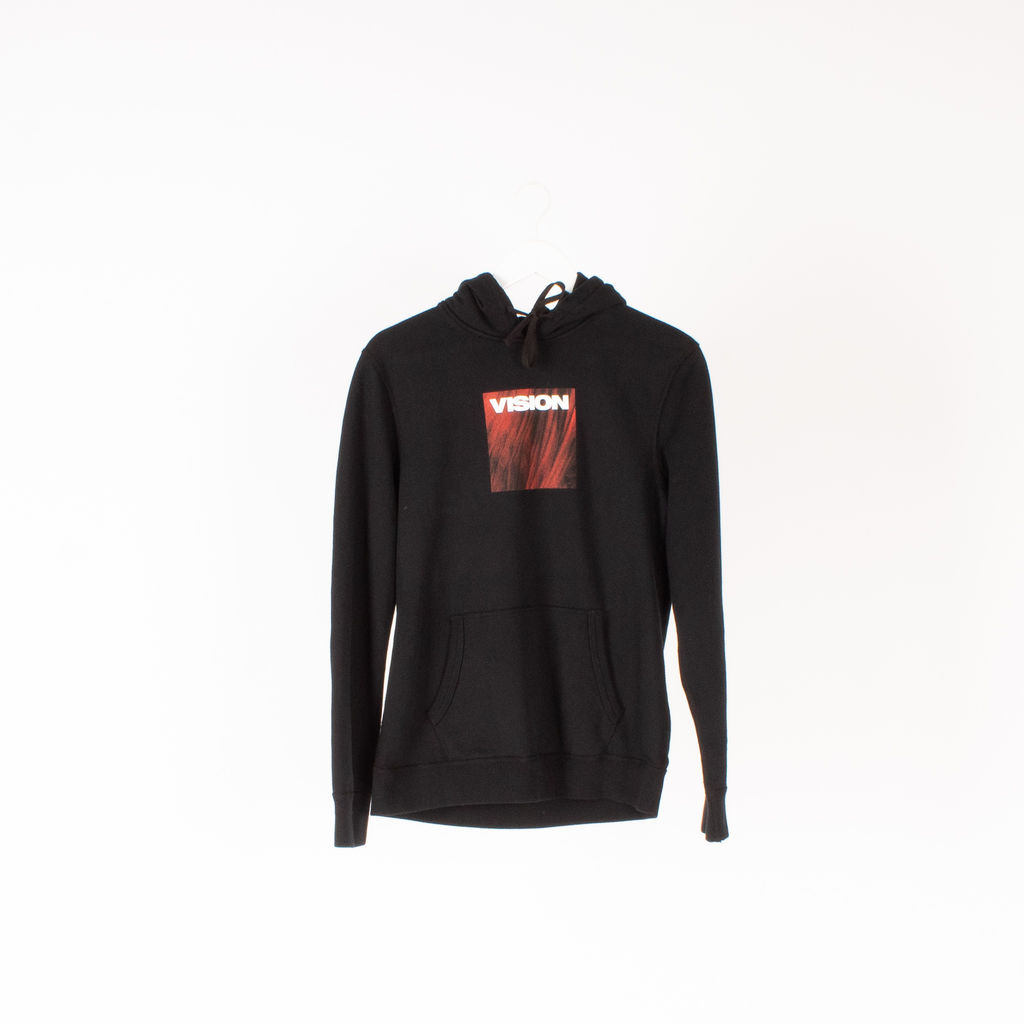 Vision Street Wear Lady In Red Hoodie in Black