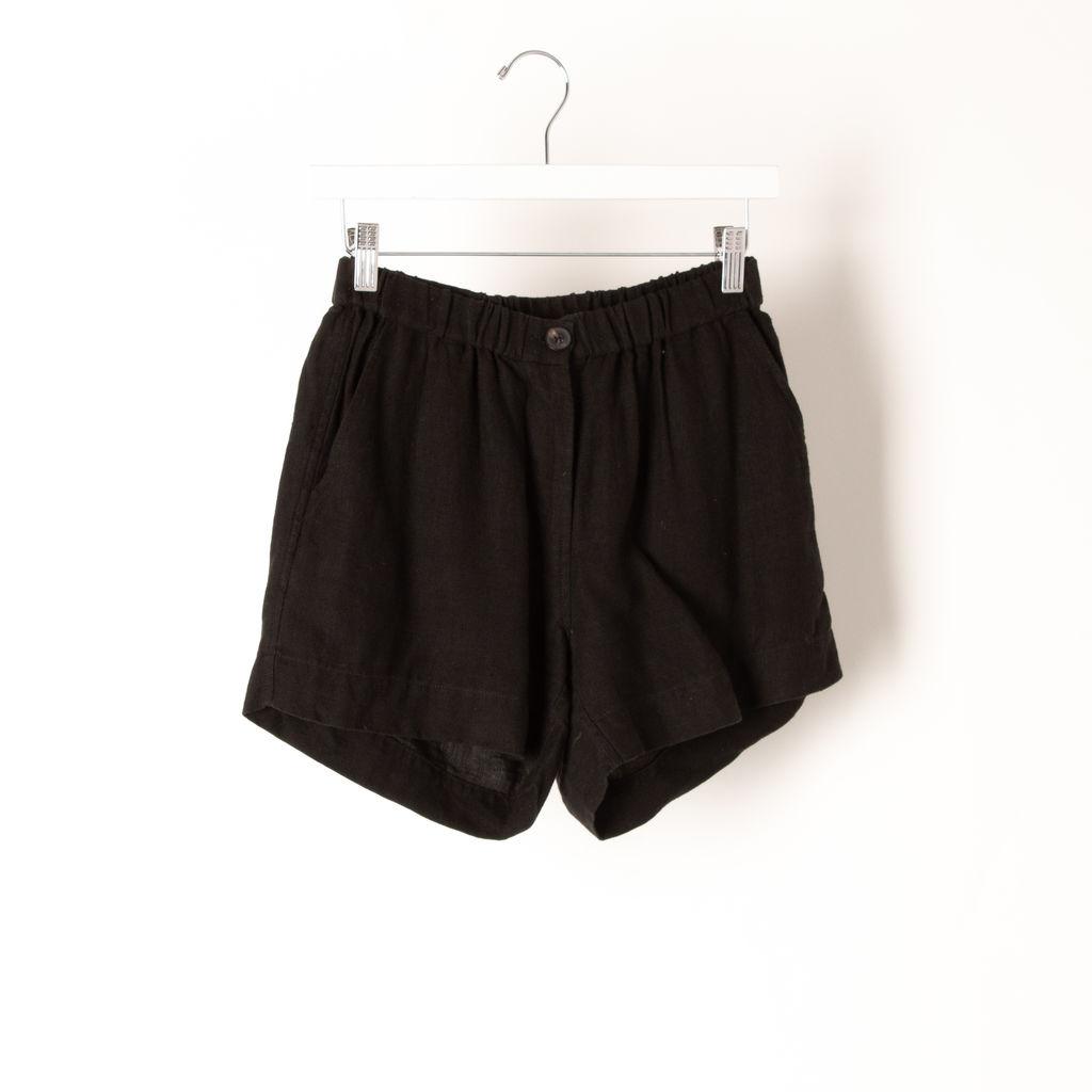 La Garçonne Moderne Linen Short