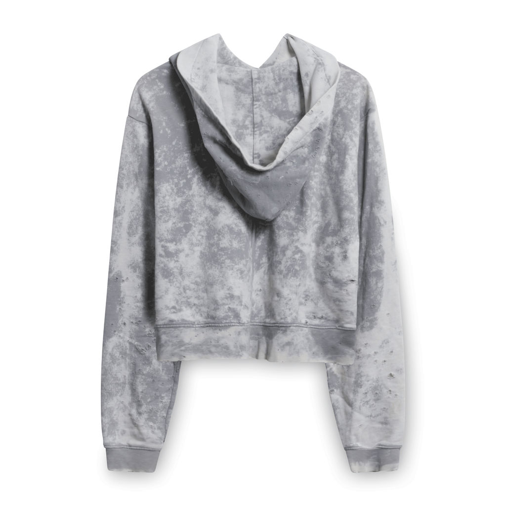 Cotton Citizen Brooklyn Tie Dye Hoodie in Grey