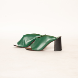 ATP Atelier Licola Basil Green Vacchetta curated by Olivia Lopez