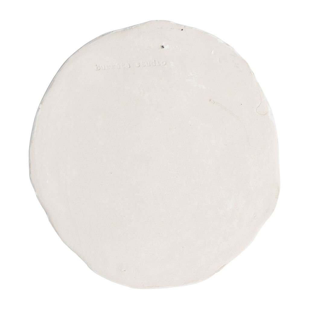 Large Checkerboard Plate - White