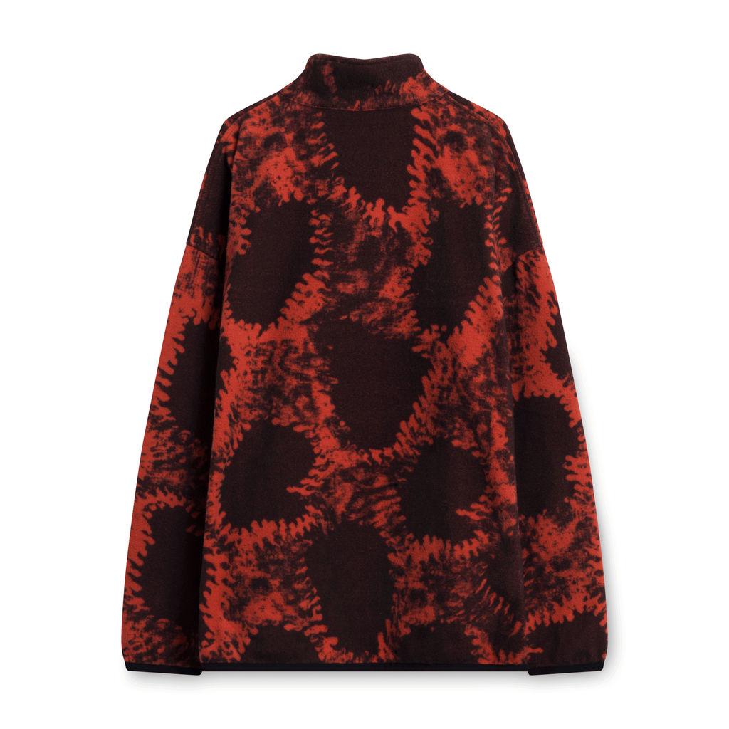 Babylon LA Red Fleece Jacket