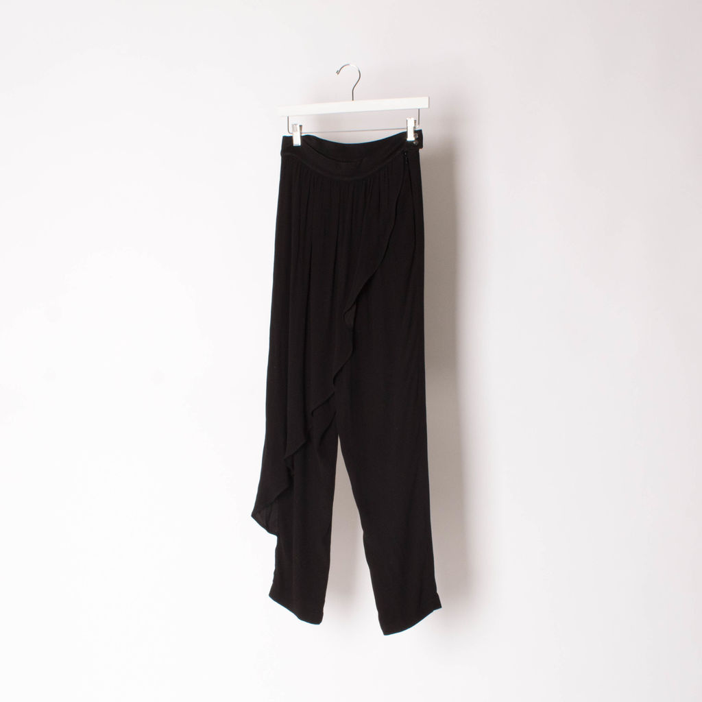 CORLY Wide Leg Trousers with Flap Detail