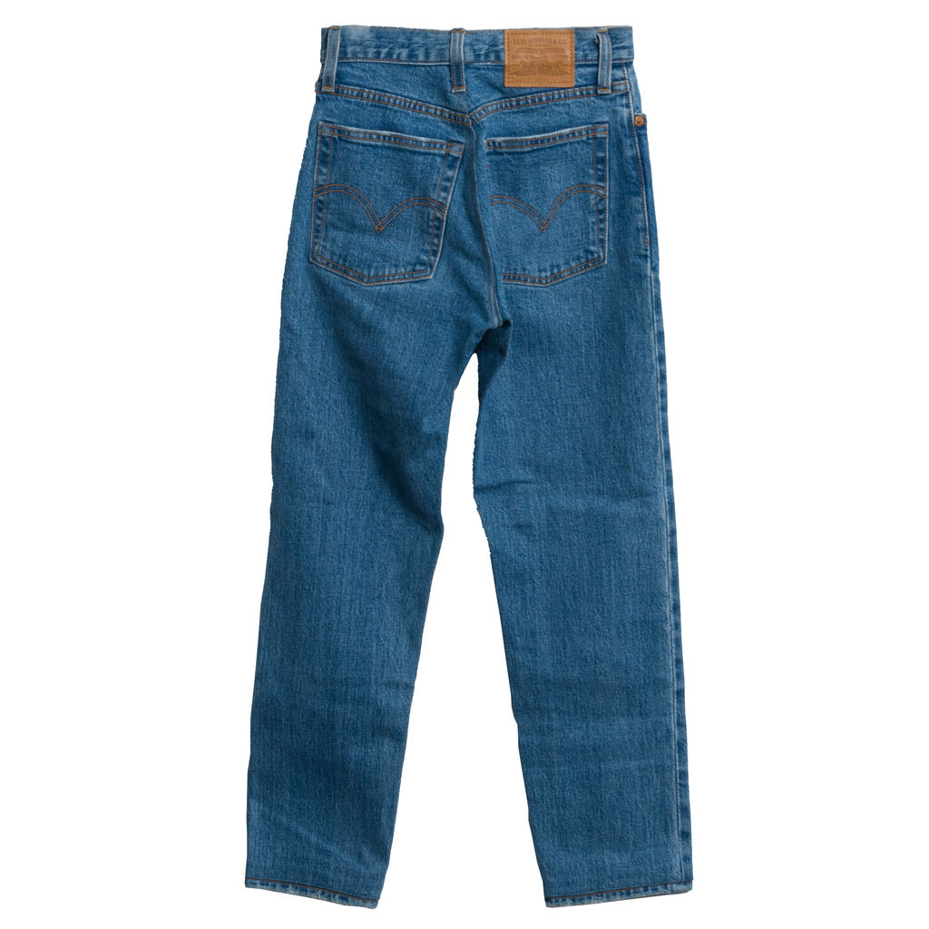 Levi's Straight Fit High Rise Jeans